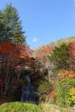 舌川原庭園の紅葉