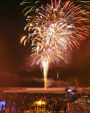 阿寒湖氷上フェスティバル♪