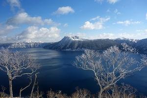 摩周湖外輪樹氷散歩
