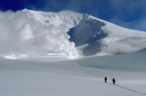 冬の旭岳へ