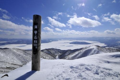屈斜路湖俯瞰の絶景展望台