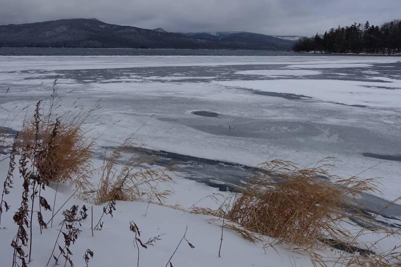 12月31日の阿寒湖