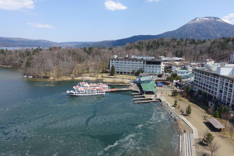 4月29日の阿寒湖