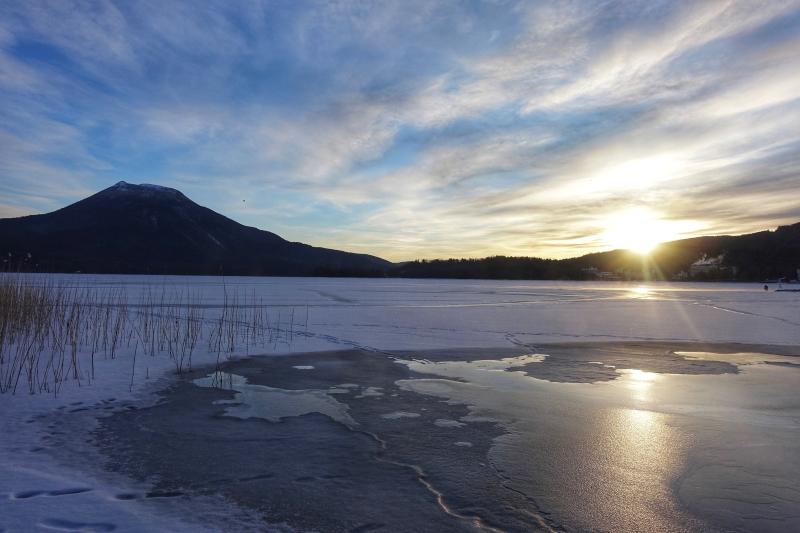 2021.1.1 阿寒湖 初日の出