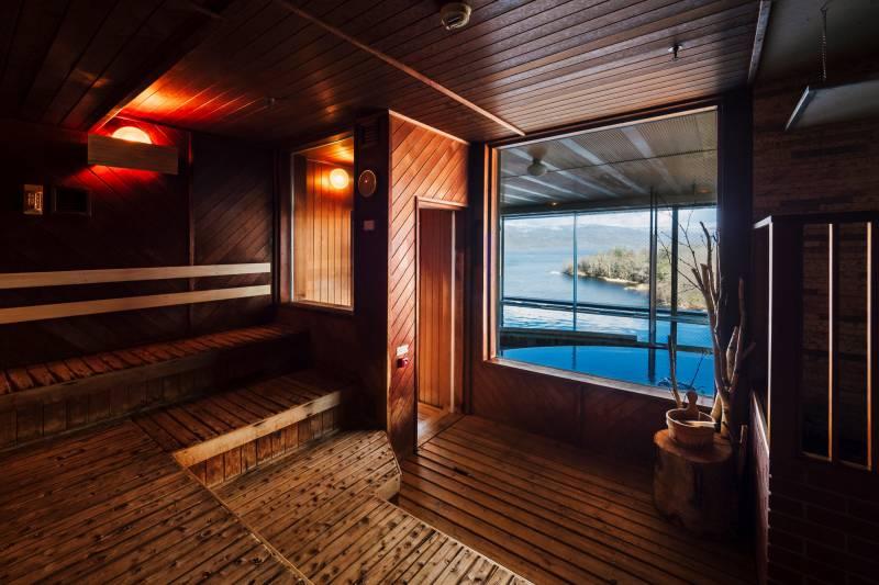 ニュー阿寒ホテル サウナ室