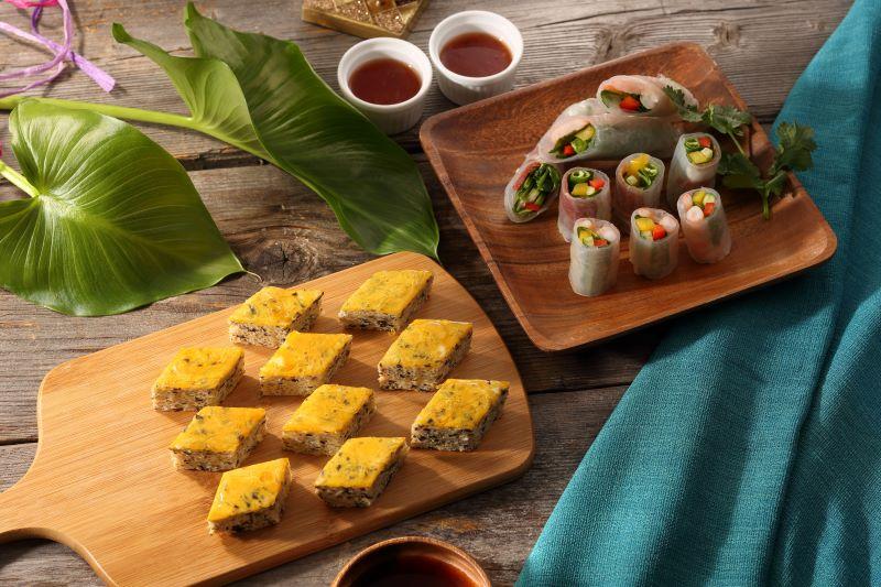 インドネシア料理のチャーチャンハップや生春巻き